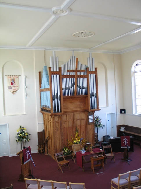 Interior of Kelvedon URC